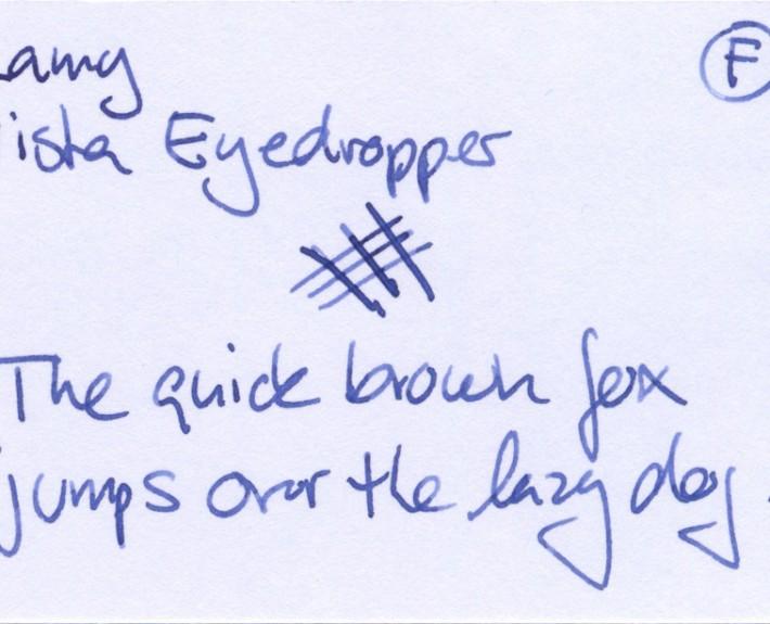 Lamy Vista Eyedropper F (0.5)