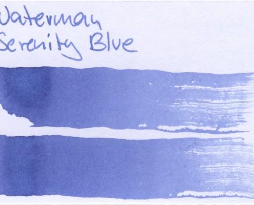 Waterman Serenity Blue