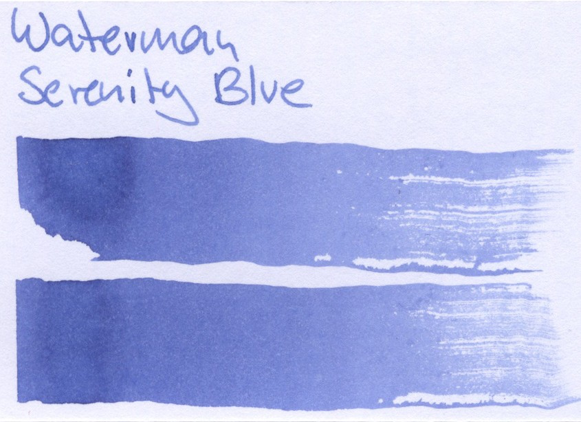 Waterman Serenity Blue