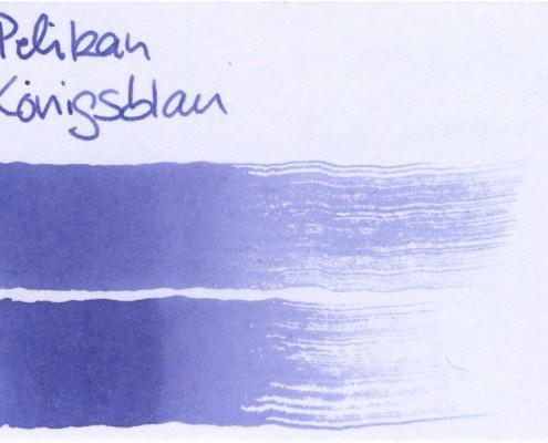 Pelikan Königsblau