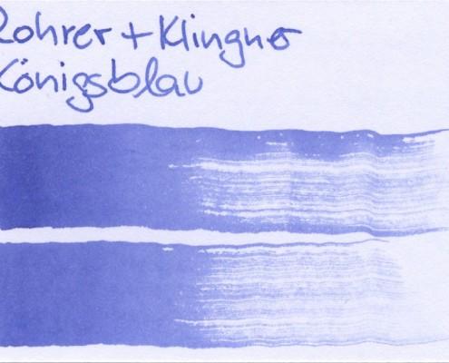 Rohrer & Klingner Königsblau