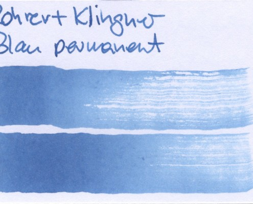 Rohrer & Klingner Blau permanent