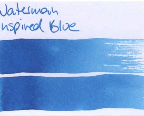 Waterman Inspired Blue