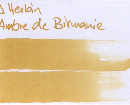 J.Herbin Ambre de Birmanie