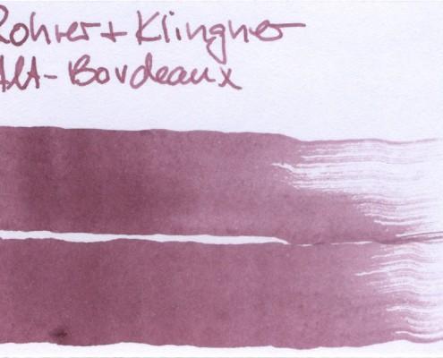 Rohrer & Klingner Alt-Bordeaux